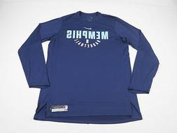 NEW Nike Memphis Grizzlies - Blue Poly Long Sleeve Shirt